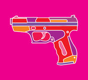 Pistol Royaltyfri Fotografi