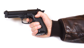 Pistol 9mm Royalty Free Stock Photos