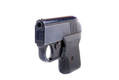 Pistol of black Royalty Free Stock Photo
