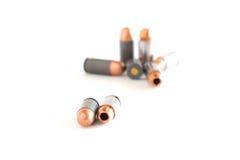.45 Pistol bullets . Royalty Free Stock Photos