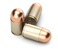 Pistol bullets Stock Photos