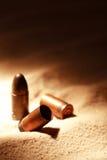 Pistol Cartridges Stock Images