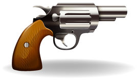 Pistol. Close up classic design of pistol Stock Images