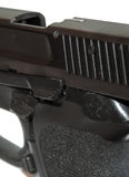 Pistol closeup Stock Photography