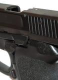 Pistol closeup stock photography