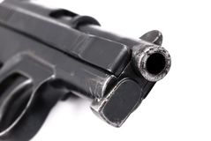 Pistol detail Stock Photo