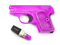 Pistol glamorous Royalty Free Stock Photography