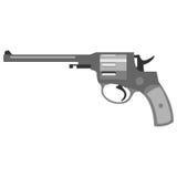 Pistol handgun security and military weapon Stock Photo