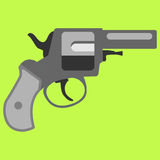 Pistol handgun security and military weapon Stock Photography