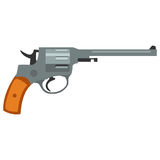 Pistol handgun security and military weapon Stock Photos