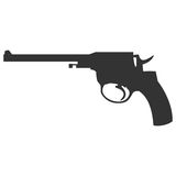 Pistol handgun security and military weapon Royalty Free Stock Images