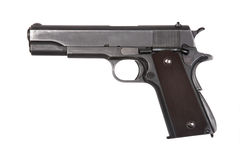 Pistol isolated. Stock Photography