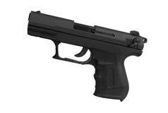 Pistol isolated on white Stock Photos