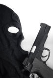 Pistol and mask Royalty Free Stock Photo