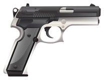 Pistol. Modern design of pistol gun Stock Photo