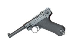 Pistol P08 Royalty Free Stock Image