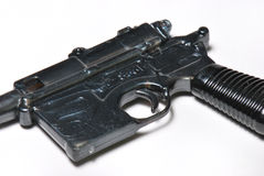 Pistol Replica. A photo taken on an old pistol replica royalty free stock photos