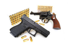 Pistol and Revolver Royalty Free Stock Photography