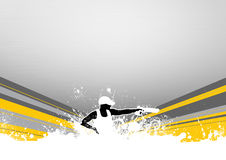 Pistol sport. Abstract grunge pistol shot sport background with space Stock Photos