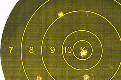 Pistol Target Royalty Free Stock Photo