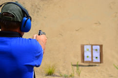 Free Pistol Target Practice Royalty Free Stock Images - 42558259