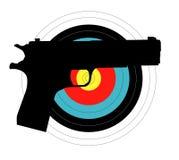 Pistol Target Stock Photos