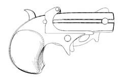 Pistol Vector 02 Royalty Free Stock Image
