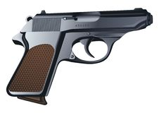 Pistol vector Stock Photography