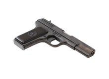Pistol On White Royalty Free Stock Image