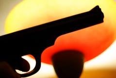 Pistola Fotografía de archivo libre de regalías