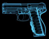 Pistola ilustración del vector