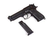 Pistola 9m m Foto de archivo
