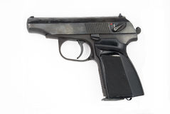 Pistola 9mm Makarov immagine stock libera da diritti