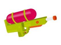 Pistola a acqua variopinta Immagini Stock