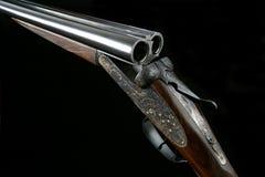 Pistola alesata del colpo di azione 12 rotondi di AYA no. 2 Immagini Stock