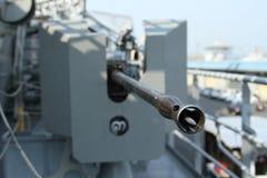 Pistola antiaerea Immagine Stock