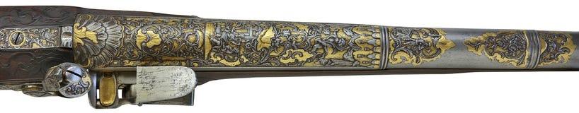 Pistola antica Immagini Stock