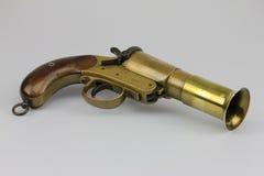 Pistola antica del chiarore Immagine Stock