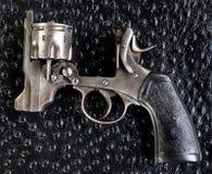 Pistola antiga de Ingleses 455 Fotografia de Stock Royalty Free