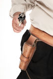 Pistola apontada Fotos de Stock