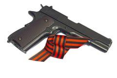 Pistola a aria compressa Immagine Stock