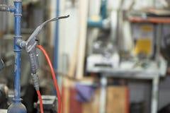 Pistola a aria compressa ad alta pressione Fotografia Stock