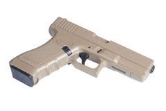 Pistola automática do revólver de Glock 9mm Fotografia de Stock Royalty Free