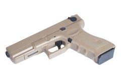 Pistola automática do revólver de Glock 9mm Fotos de Stock