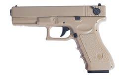 Pistola automatica della rivoltella di Glock 9mm fotografie stock libere da diritti