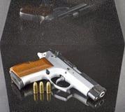 pistola automatica di 9mm Fotografie Stock