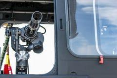 Pistola britannica dell'elicottero Fotografie Stock