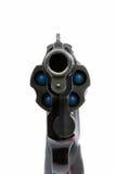 Pistola che lo punta Fotografia Stock