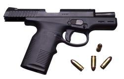 pistola de 9 milímetros Fotografia de Stock