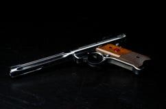 Pistola de la blanco 22LR Imagen de archivo libre de regalías